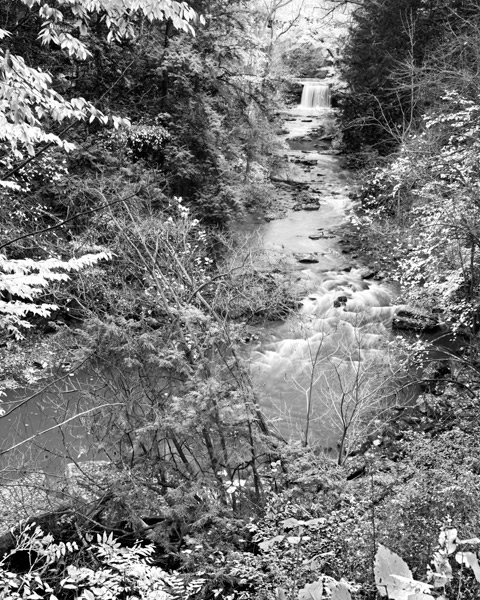 Long View of Lanterman Falls