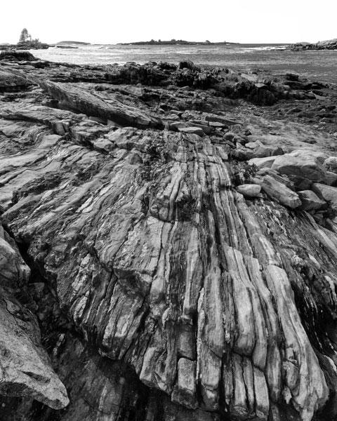 Rocky Maine Shoreline