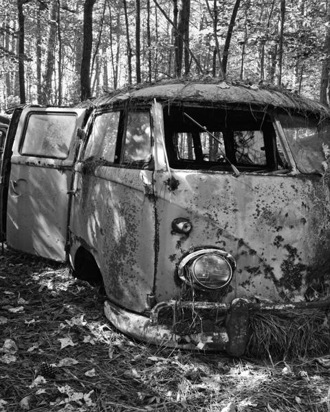 VW Bus bw