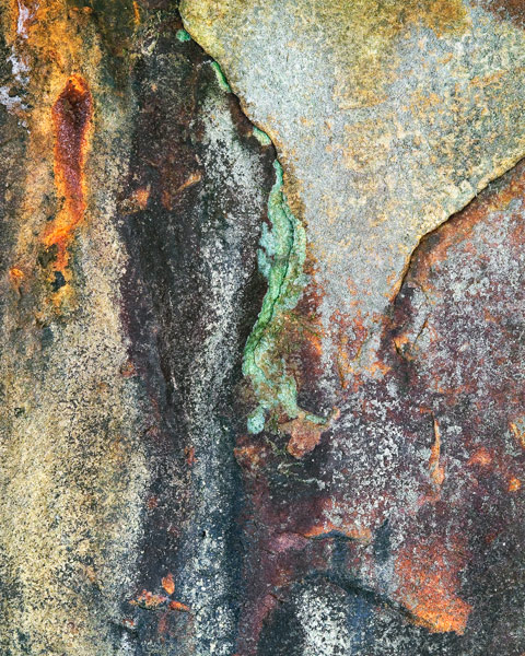 Stained Rock
