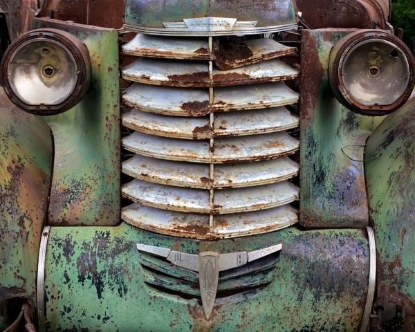Green Car Grill