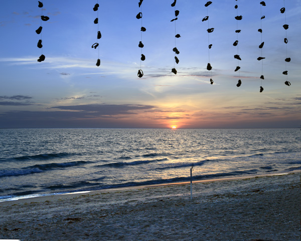 Beaded-Shell-Sunset