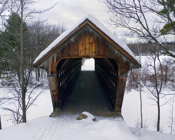 New England Winter Scene